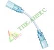 Коннектор гибкий 3-3528/5050-220-3цв